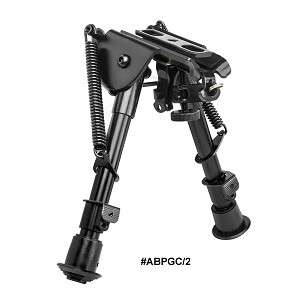 NcStar Precision Grade Bipod - Compact Notched