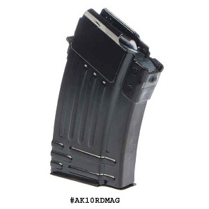 AK-47 10 Round Steel Magazine -Restricted Item -Check Your Local and State Laws Prior To Ordering