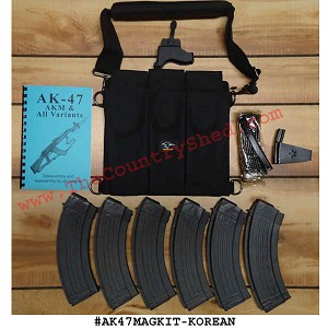 AK-47 Mag Kit- Korean -Restricted Item -Check Your Local and State Laws Prior To Ordering