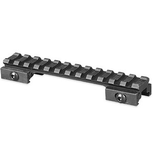 Lion Gears Tactical Picatinny .5 Inch Riser, 5 Inch Long w/12 Slots