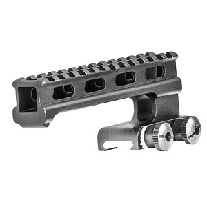 Lion Gears BridgeMount Redefined Carry Handle - Tactical Picatinny Cantilever 1.8 Inch Riser, 5.5 Inch Long with 13 Slots