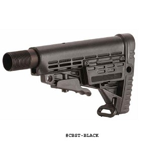 CAA AR-15 M16 M4 Tactical Butt Stock With Battery Storage With Commercial Tube