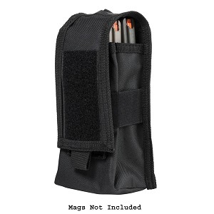 NcStar AR-15 / AK-47 Mag Pouch or Radio Pouch - Black (Mags NOT Included)