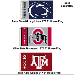 College Licensed 3' X 5' Flag