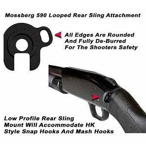GG&G Mossberg 500 / 590 Looped Rear Sling Attachment
