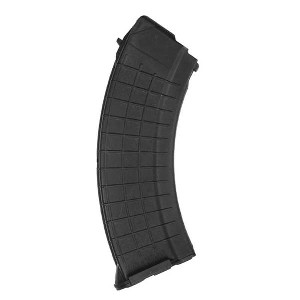 I.O. AK-47 7.62x39mm 30 Round Black Polymer Mag - Restricted Item -Check Your Local and State Laws Prior To Ordering
