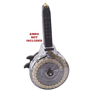 Korean .40 S&W 50RD Glock Drum With Clear Back -Restricted Item -Check Your Local and State Laws Prior To Ordering