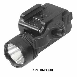 UTG Tactical Super-compact Pistol Flashlight w/23mm CREE R2 LED & Integral QD Mount