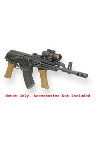 UltiMAK AK Scout Mount Model M2-B With Side Gas Ports