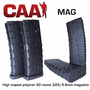 CAA AR-15 30 Round Polymer Mag- Restricted Item -Check Your Local and State Laws Prior To Ordering