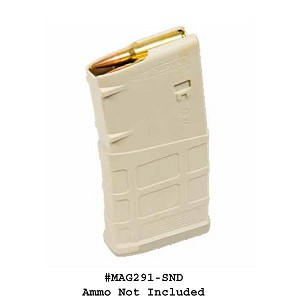 Magpul PMAG® 20 LR/SR GEN M3, 7.62x51 20 Round Sand Magazine  -Restricted Item -Check Your Local and State Laws Prior To Ordering