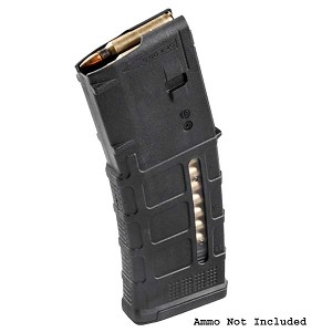 Magpul PMAG® 30 AR/M4 GEN M3™ Window 30 Round Mag - Black -Restricted Item -Check Your Local and State Laws Prior To Ordering
