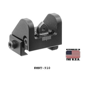 UTG Sub-compact Rear Sight for Shotguns or .22 Rifles