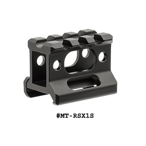 UTG Super Slim Picatinny Riser Mount 1 Inch High, 3 Slots