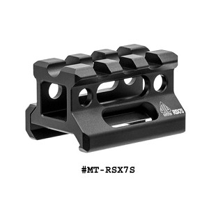 UTG Super Slim Picatinny Riser Mount, 0.75 Inch Height, 3 Slots