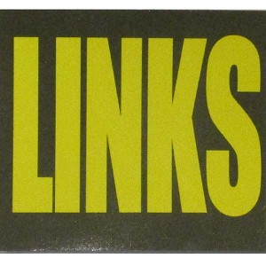 Ammo Can Magnet LINKS - Yellow Standard .30Cal