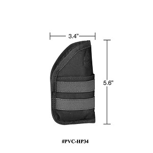 UTG 3.4 Inch Ambidextrous Pocket Holster Black