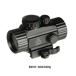 "UTG 3.8"" ITA Red/Green Single Dot Sight w/Integral QD Mount"