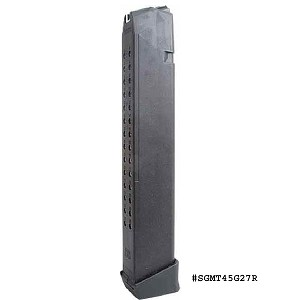 Surefire Glock .45 ACP 27 Round Mag -Restricted Item -Check Your Local and State Laws Prior To Ordering