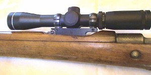 S&K Turkish Mauser Scout Mount (S&K Style) w/S&K Style 1 Inch Rings