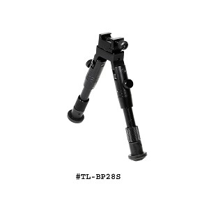 UTG Shooter's SWAT Bipod, Rubber Feet Height 6.2-6.7 Inch