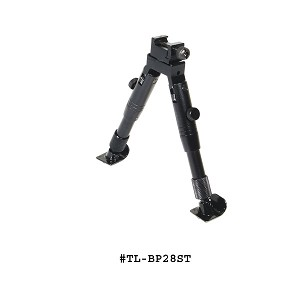UTG Shooter's SWAT Bipod Steel Feet Height 5.8-6.8 Inch