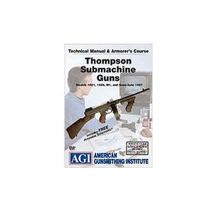 AGI Thompson Submachine Gun DVD