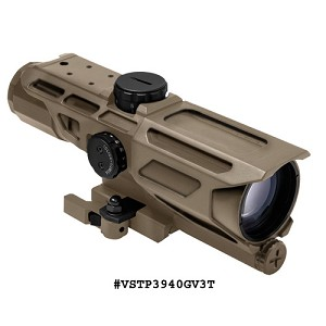 NcStar GEN3 Mark III Tactical 3-9X40 Scope/P4 Sniper - Tan