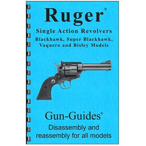Ruger Revolver Disassembly / Reassembly Gun-Guide